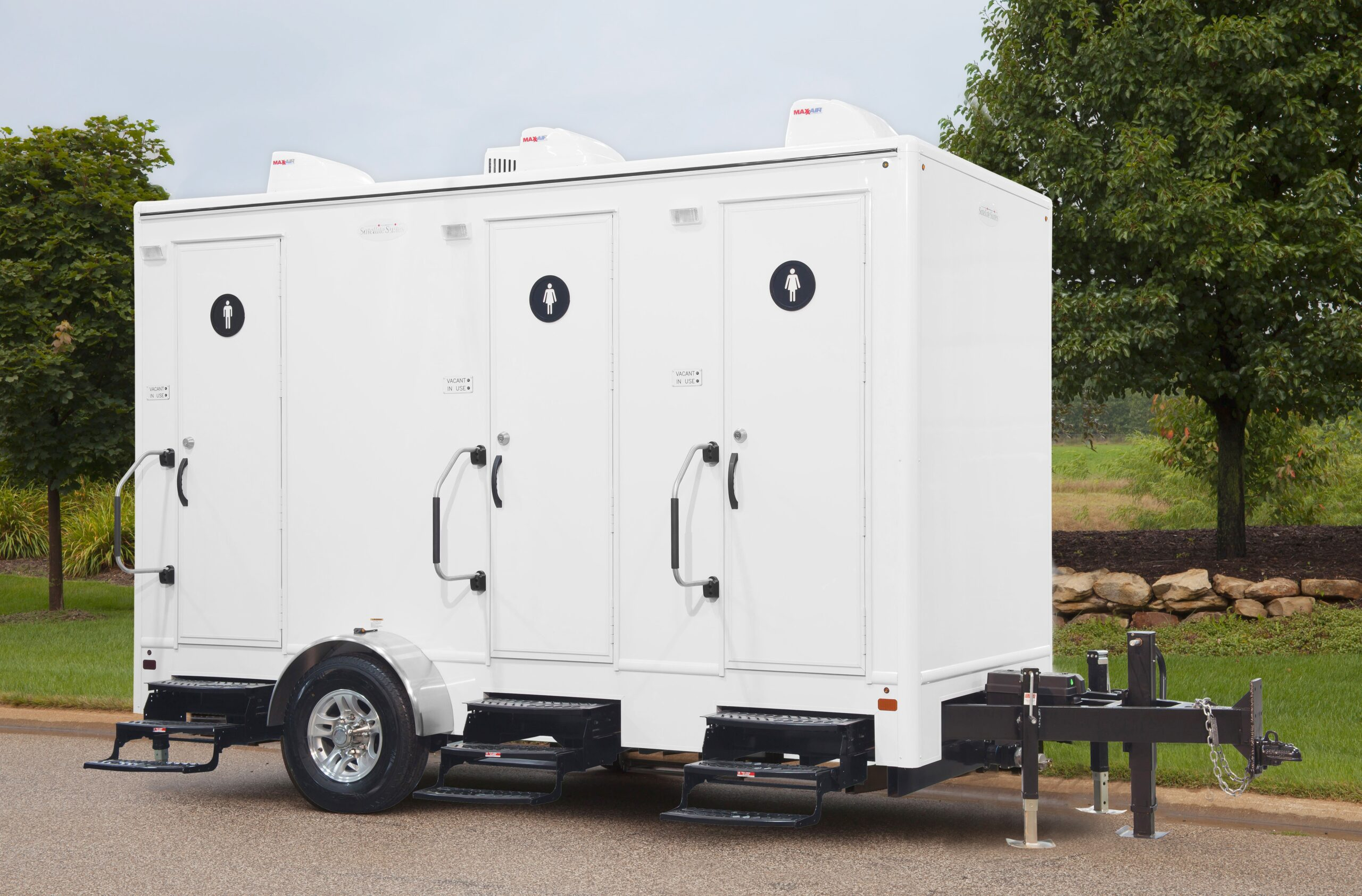 Porta Potty Rental Trailer - 14-foot