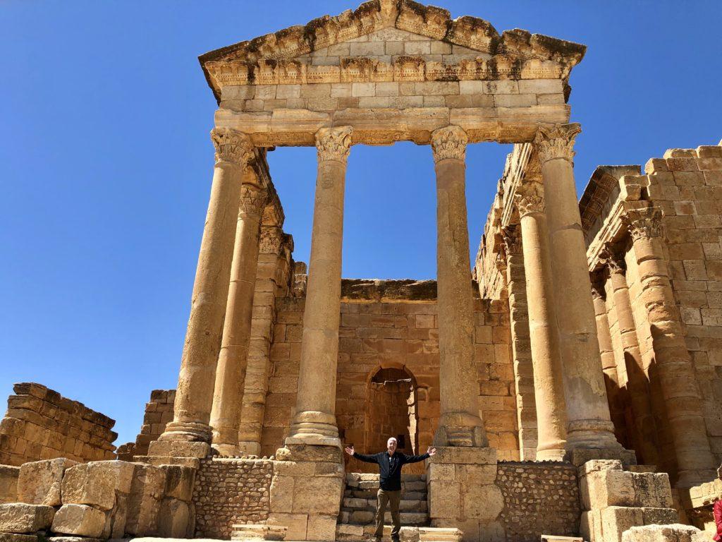 Roman Ruins in Tunisia