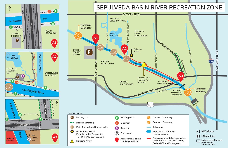Sepulveda Basin River Recreation Zone