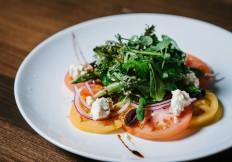 tomato salad rimrock cafe whistler