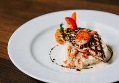 salmon lobster mash potato rimrock cafe whistler