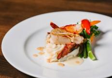lobster scallop rimrock cafe whistler