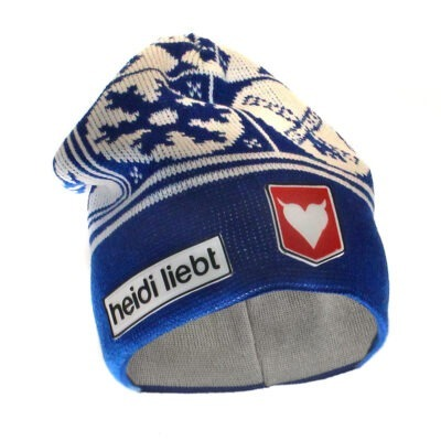 New born Beanie Holland Winter in blue made in Holland