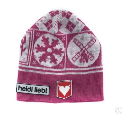 New born beanie Holland Winter in pink made in Holland