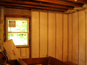 A room with our insulation in New York City, NY