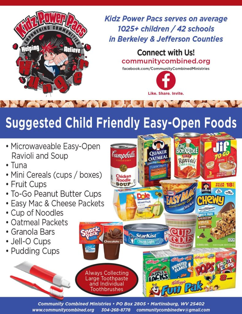 Local Businesses Help Us When They Sponsor a Food Drive!