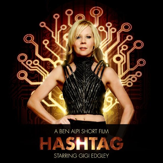 Hashtag Poster, Runic Films, Gigi Edgley
