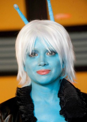 Courtney Peldon as Shree, Star Trek Renegades - Makeup by Lisa Hansell, ImpaQt FX
