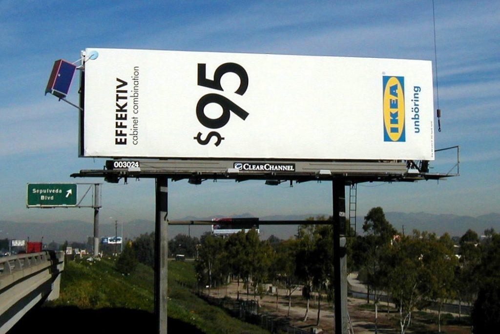 IKEA Effektiv Billboard, Los Angeles