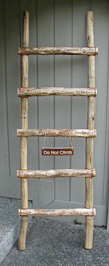Southwest Style Ladder Created for Traveling National Moment Display