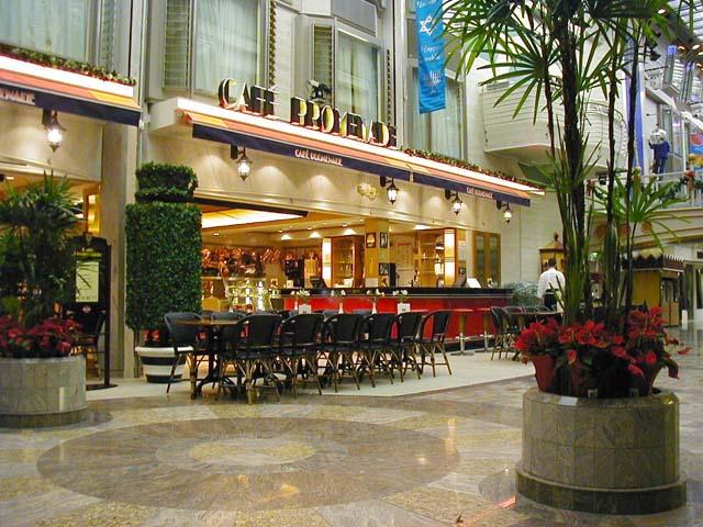 Tea Cup Topiary, Cafe Promenade, Royal Caribbean Cruise Lines