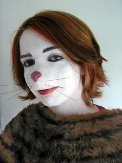 Cat Nose - Sculpt, Prosthetic and Application by Tim Vittetoe, ImpaQt FX