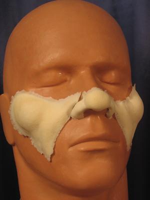 Santa Nose Cheeks and Nose