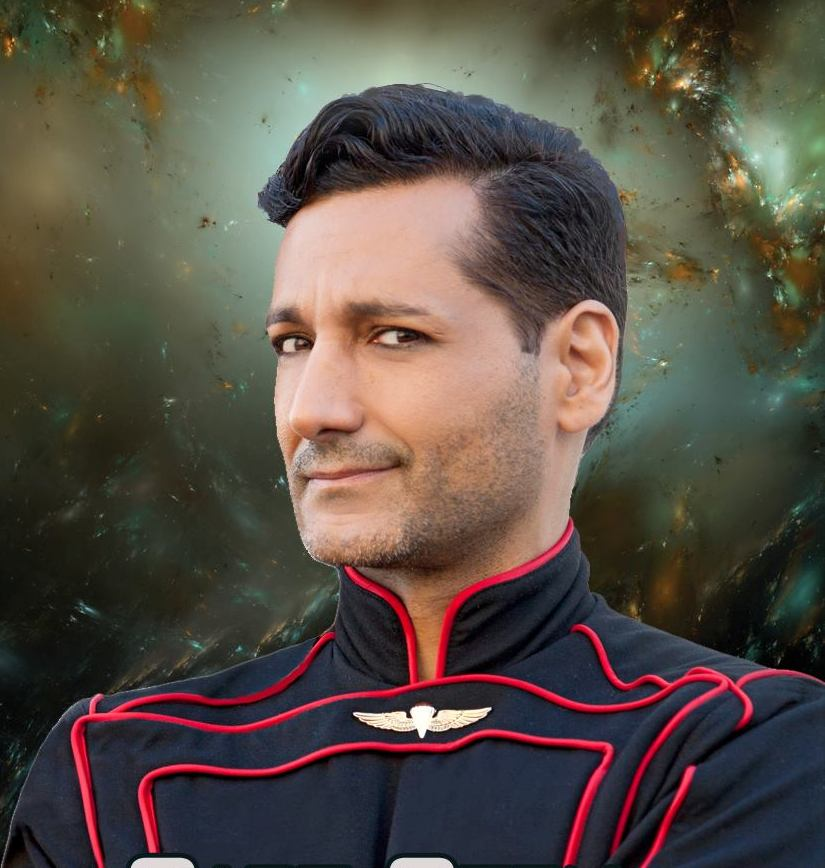 Cas Anvar as Captain Eric Cern, Nobility
