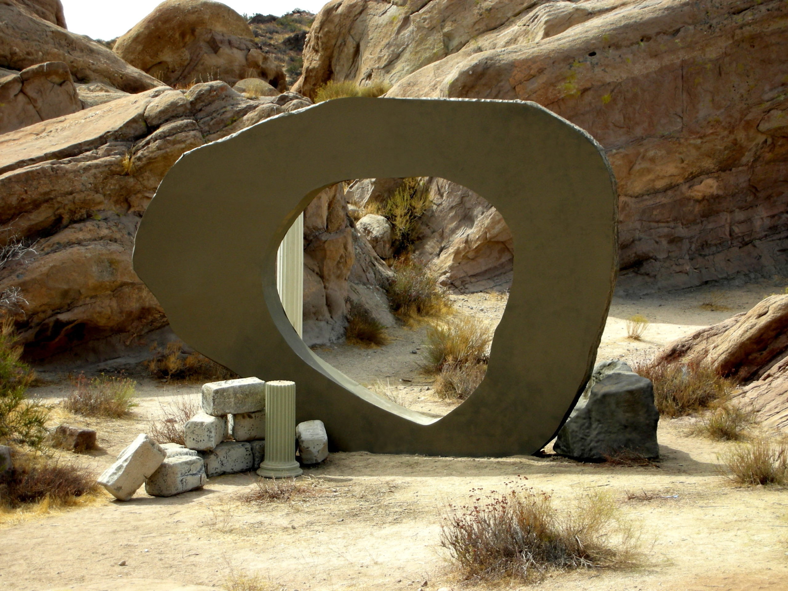Guardian of Forever replica, Vasquez Rock Park