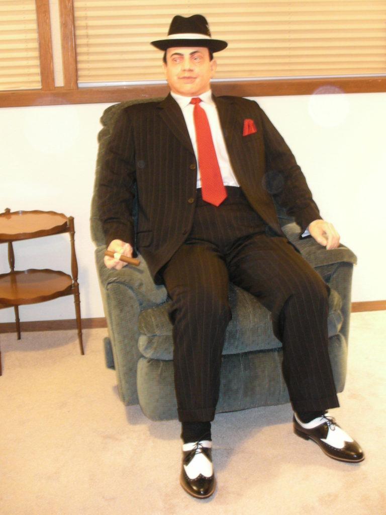 Al Capone Life-size Replica, Hotel Chain Photo Opp