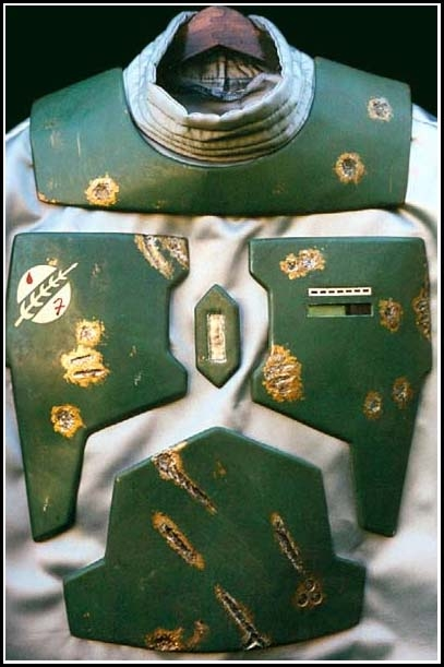 Boba Fett Chest Armor, Personal Collection