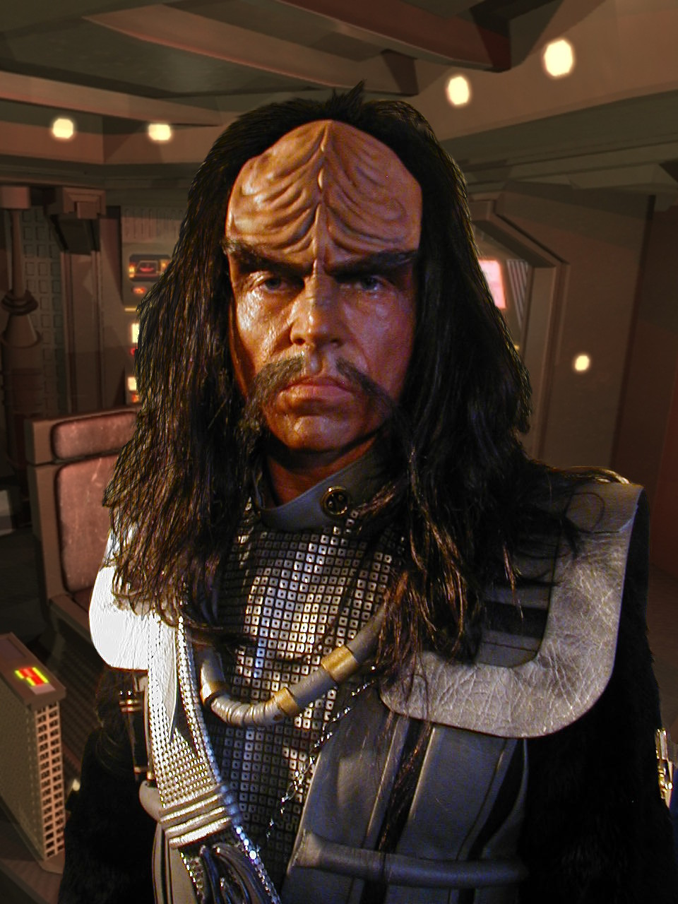 John Carrigan as Klingon, Star Trek:  Of Gods and Men - Sculpt, Prosthetic Appliance, Makeup by Tim Vittetoe, ImpaQt FX