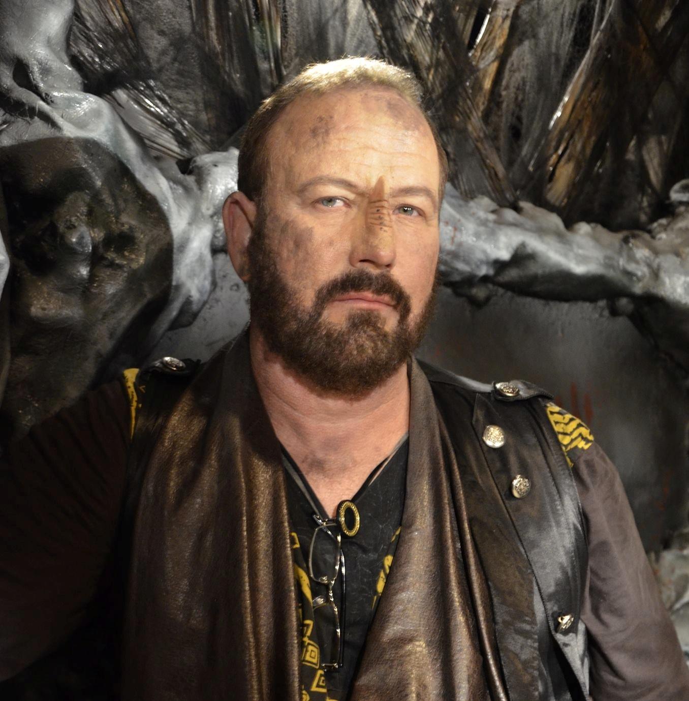 Kevin Fry-Bowers as Jaro, Star Trek Renegades - Makeup by ImpaQt FX