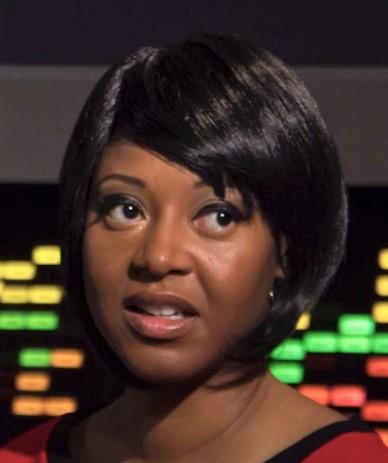 Kim Stinger as Uhura in Star Trek Continues Ep4, The White Iris