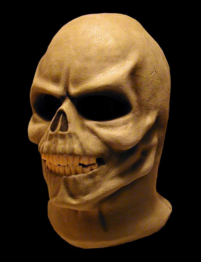 Skull Mask, Van Helsing Maze Attraction, NBC-Universal Studios, Sculpt, Foam Latex Pull-over Mask by Tim Vittetoe, ImpaQt FX