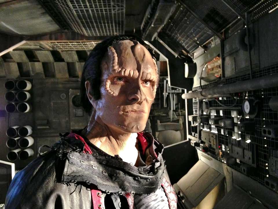 Vic Migogna as Malbon, Star Trek Renegades - Sculpt, Prosthetics, Makeup by ImpaQt FX