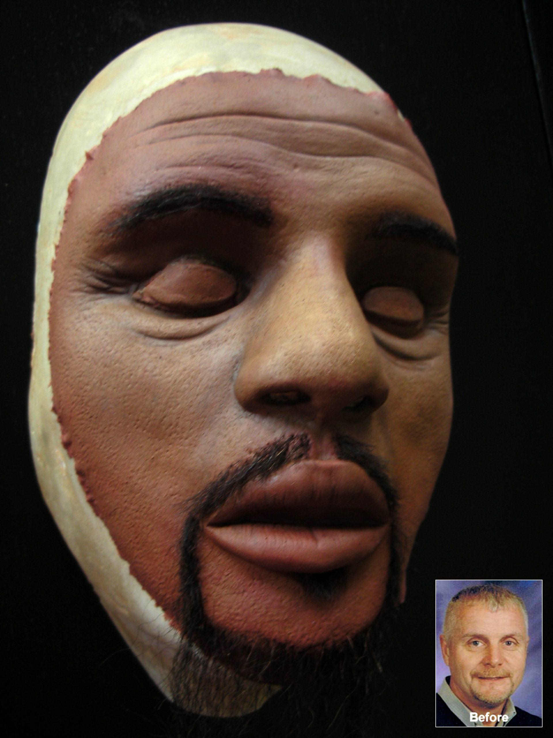 Black American Sculpt, Larry S. in Toledo, Sculpt, Appliance by Tim Vittetoe - ImpaQt FX