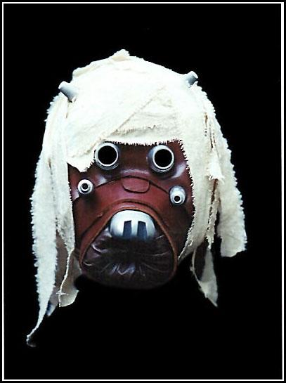 Tusken Raider Head, Personal Collection