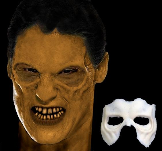 Zombie Mask with Sunken Eye Sockets