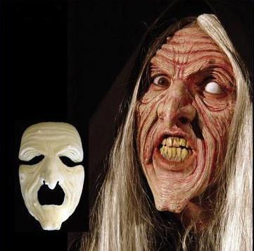 Witch or Warlock Foam Latex Mask