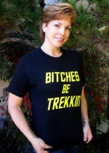 B*tches Be Trekkin' T-Shirt worn by Lisa