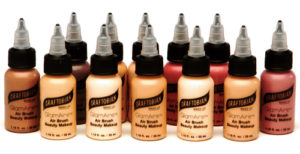 12 Full-size, 1 oz. colors of GlamAire™ Airbrush Makeup