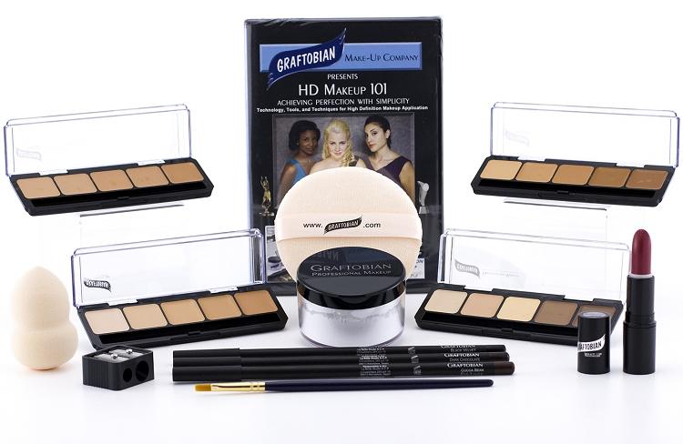 HD Professional Makeup Kits - Light, Medium and Dark