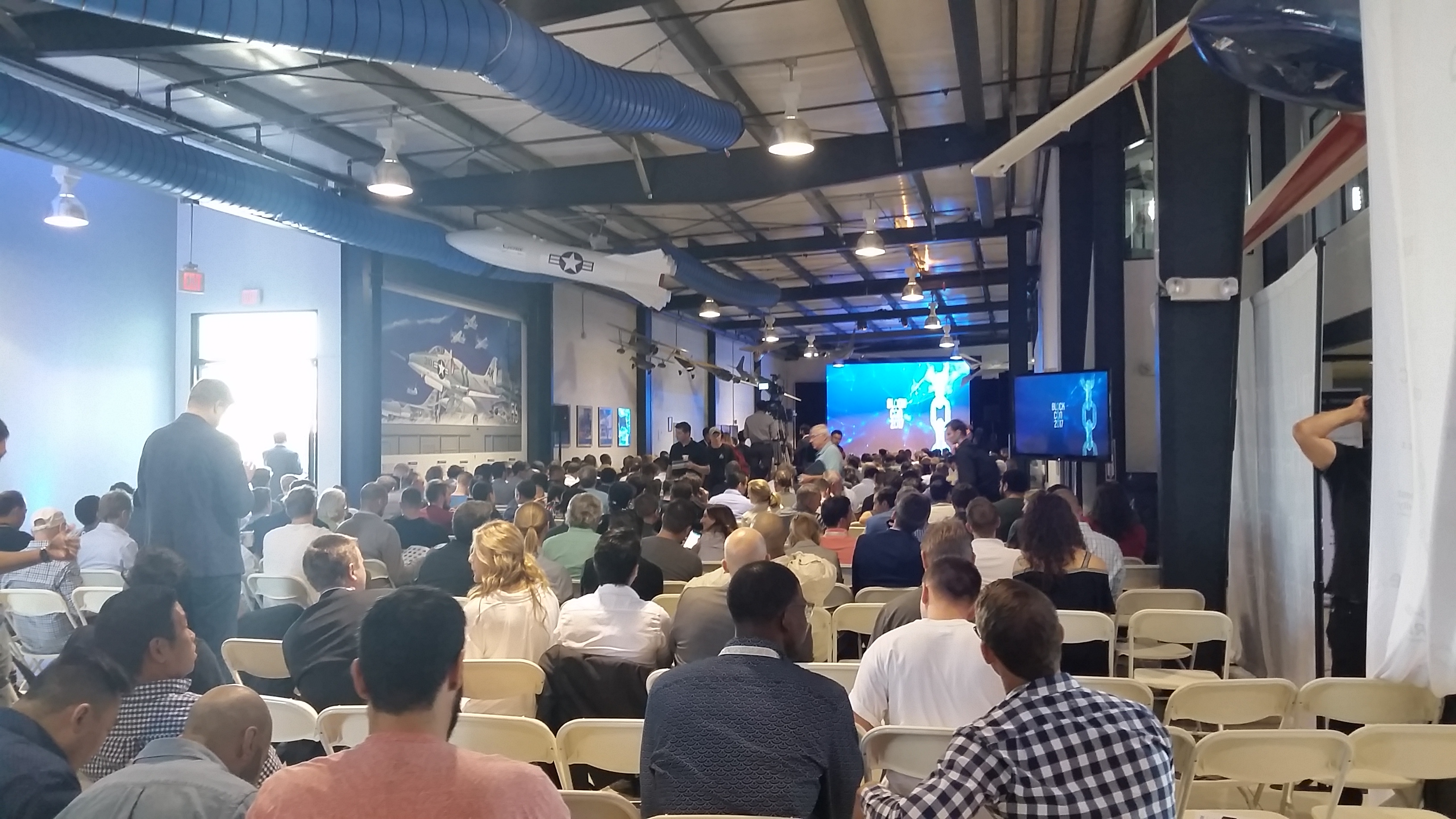Block Con Blockchain Trends Speakers Hall