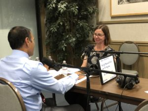 Picture of Melissa Marshall, MD at the Joy of Medicine On Call Podcast Interview
