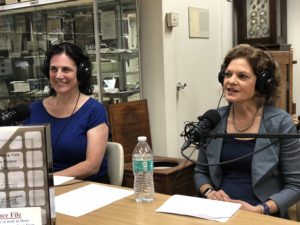 Picture of Rochelle Frank, MD and Louise Glaser, MD at the Joy of Medicine On Call Podcast