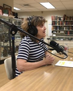 Portrait of Dr. Lydia Wytrzes at the Joy of Medicine On Call Podcast Interview