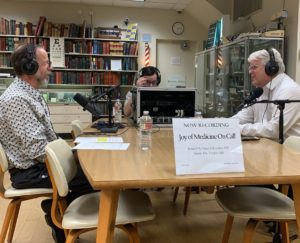 Dr. Eric Tepper and Dr. Peter Yellowlees pictured at the Joy of Medicine On Call Podcast interview
