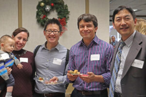 Physicians at SSVMS Holiday social event