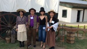 Photo of physicians at SSVMS Sutters Fort Social