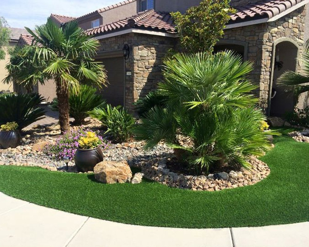 Residential Turf Front Yard
