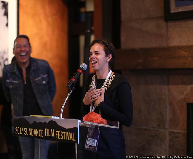 Amie Batalibasi and Blackbird the Film