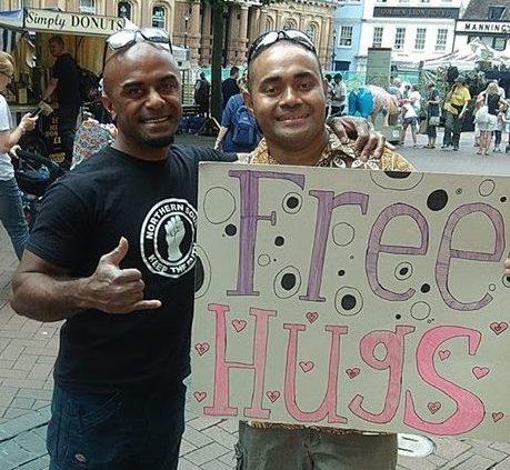 Free Fijian Hugs in the United Kingdom