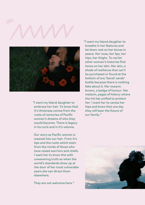 Excerpt from 'My Island Daughter' by Taofia Pelesasa