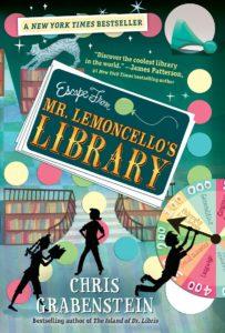 MR. LEMONCELLO'S GREAT LIBRARY RACE (October 2017, Random House)
