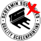 Bad Example of Pixelated Logo