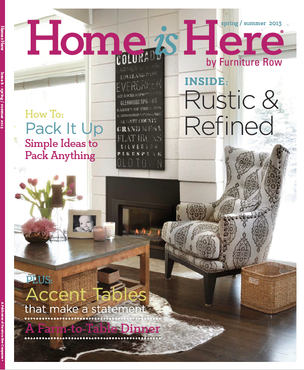 Furniture Row – Home is Here Magazine