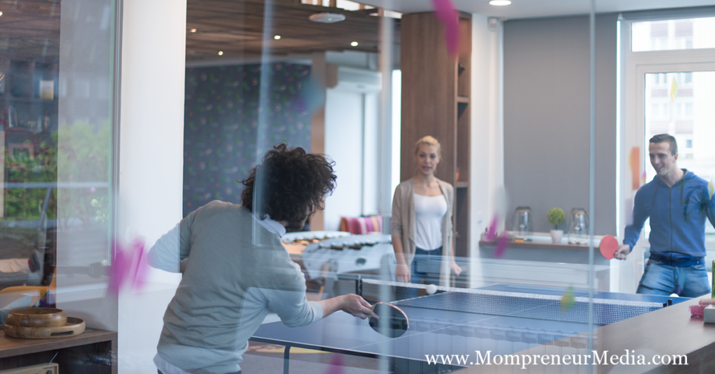 How Startups Are Using Ping Pong Tables To Relieve Employee Stress