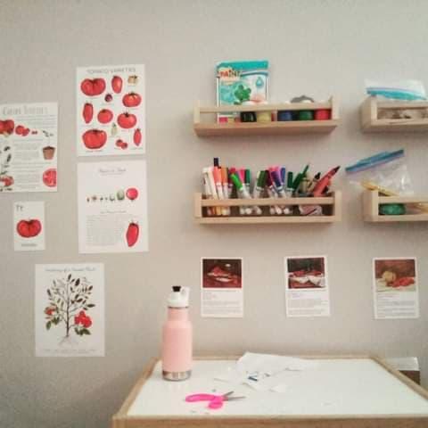 Montessori Inspired Tomato Unit