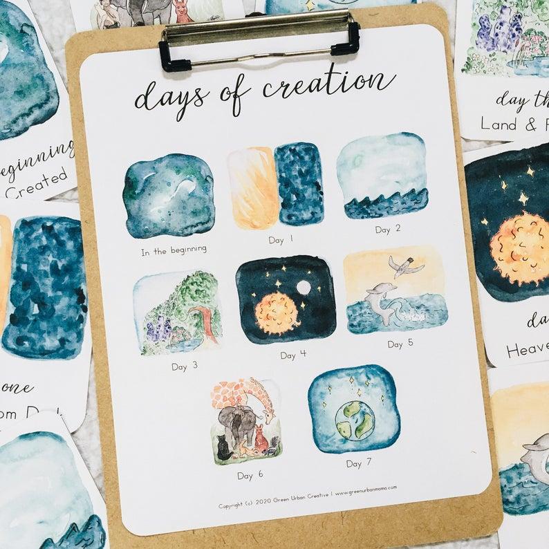 Montessori Inspired Creation Unit – Day 7